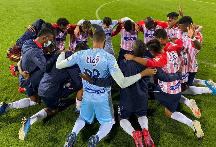 ¡El equipo que armó Junior para enfrentar a Coquimbo Unido!