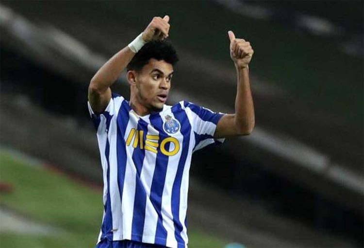 Otro gol, todos los lujos de Luis Díaz y clasificación del Porto a una semifinal