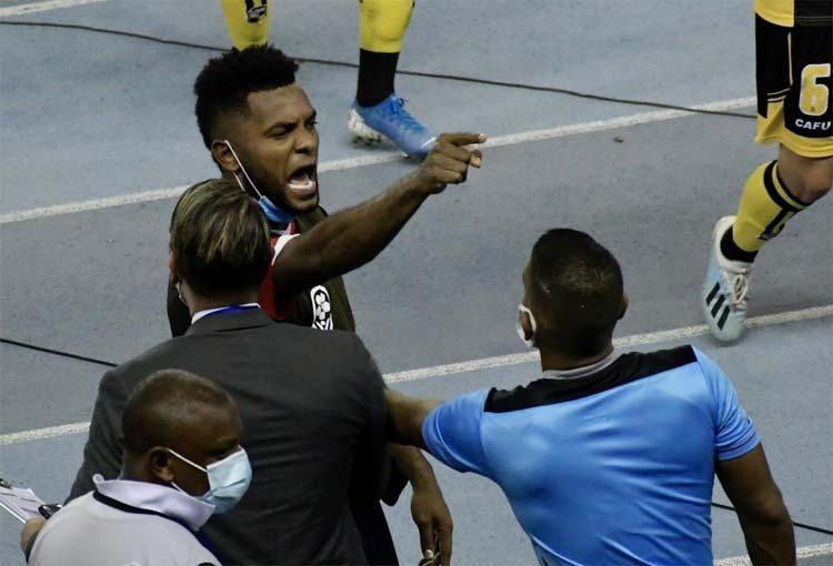 Miguel Borja, su bronca y la advertencia a los jugadores de Coquimbo Unido