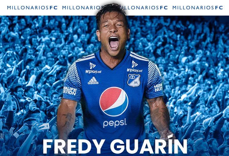 Oficial en Millonarios: detalles del fichaje de Fredy Guarín
