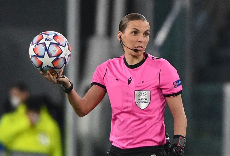 Conozca la primera mujer en dirigir un partido de Champions League