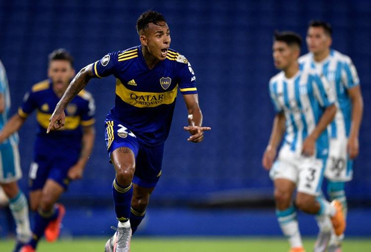 Sebastián Villa y un gol para que Boca clasifique a semifinal de la Libertadores