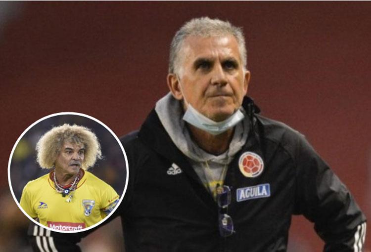 Pibe Valderrama: la crítica a Queiroz y su candidato para DT de la Selección Colombia