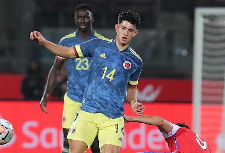 Steven Alzate, el convocado por Queiroz que volvió a jugar con un equipo sub-23