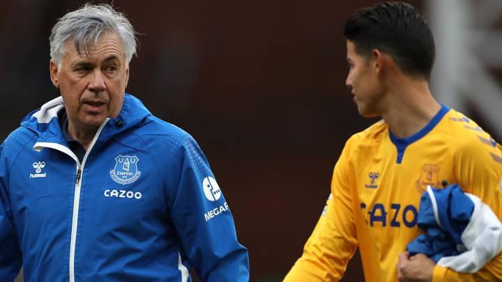 Estado físico de James Rodríguez: ¿Puede jugar cada tres dias?, Ancelotti respondió