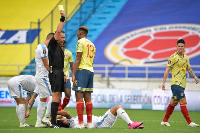 Yerry Mina contó lo que sufrió en su mal momento con la Selección Colombia