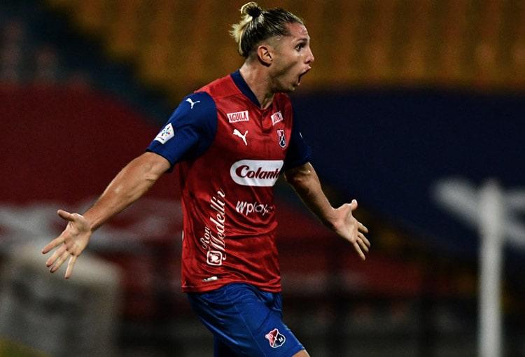 Agustín Vuletich, Deportivo Independiente Medellín, DIM, Liga BetPlay 2021-I, Patriotas Boyacá