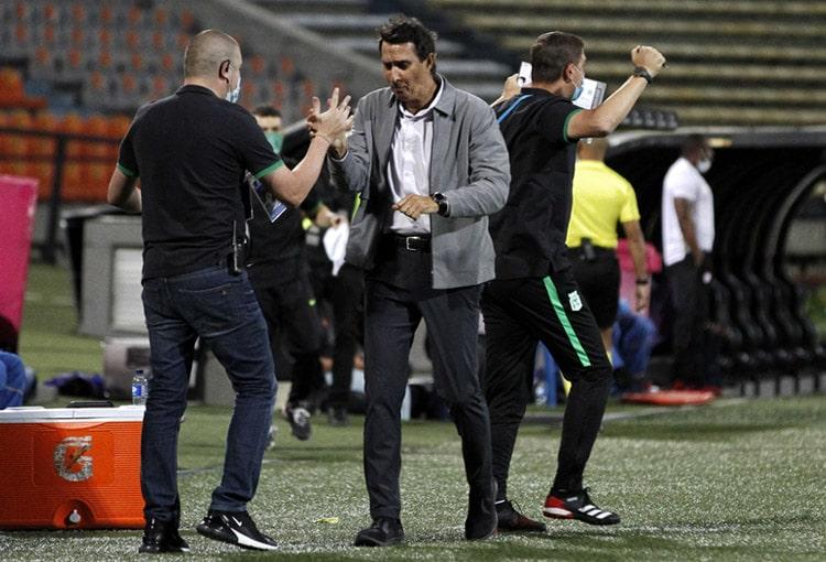 Alexandre Guimarães, Atlético Nacional 2-0 Independiente Santa Fe, Liga BetPlay 2021-I