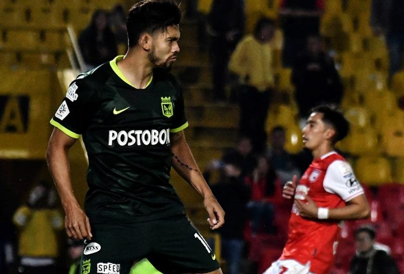 Andrés Andrade, Atlético Nacional, Independiente Santa Fe, Liga BetPlay 2021-I