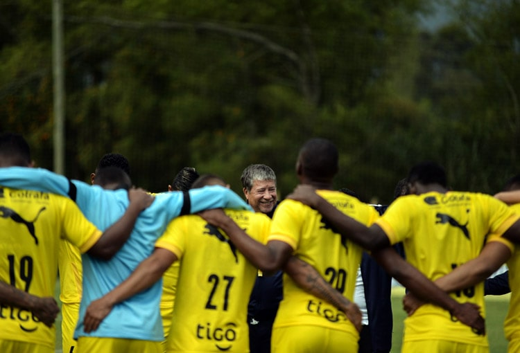 Andrés Mosquera Marmolejo, Alexis Rolín, Víctor Moreno, Javier Reina, Matías Mier, Deportivo Independiente Medellín, DIM, Liga BetPlay 2021-I, Patriotas Boyacá