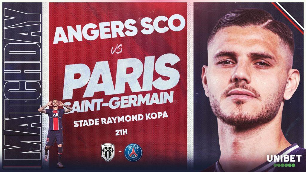 Angers 0 vs 1 PSG por la Ligue 1 de Francia