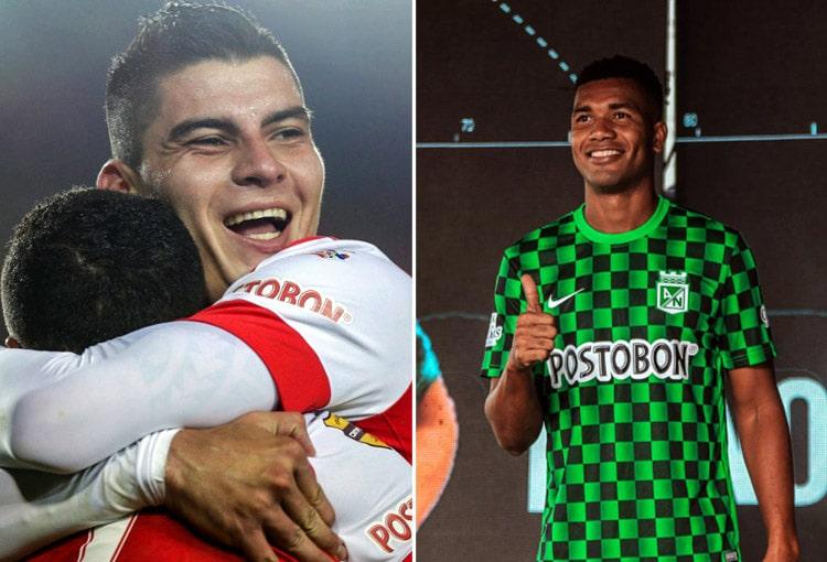 Atlético Nacional, Independiente Santa Fe, Michael Rangel, Danovis Banguero, Liga BetPlay 2021-I