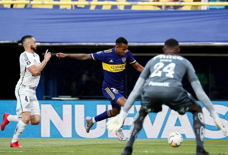 Boca Juniors, Santos, Copa Libertadores 2020
