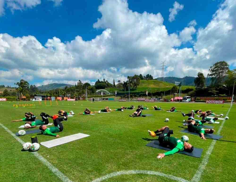 Convocados de Atlético Nacional para visitar a La Equidad en Liga BetPlay