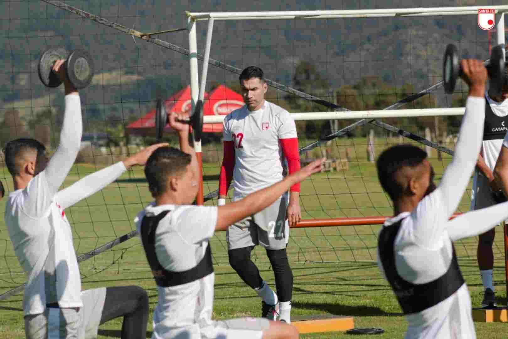 Convocados de Santa Fe para enfrentar a Atlético Nacional por Liga BetPlay