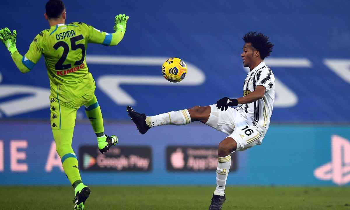 Cuadrado liquidó con una asistencia la Supercopa de Italia