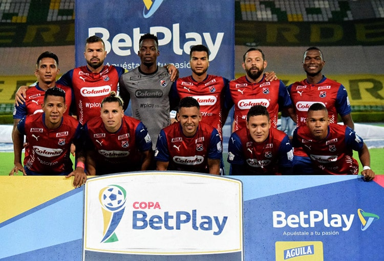DIM, Deportivo Independiente Medellín, Deportes Quindío, Copa BetPlay 2020