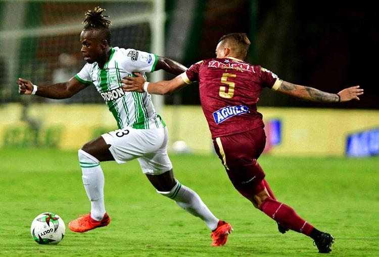 Déinner Quiñones, Atlético Nacional, Deportes Tolima, Copa BetPlay 2020