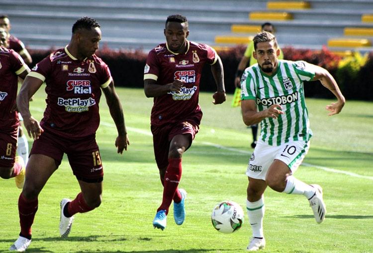 Deportes Tolima, Atlético Nacional, Copa BetPlay 2020
