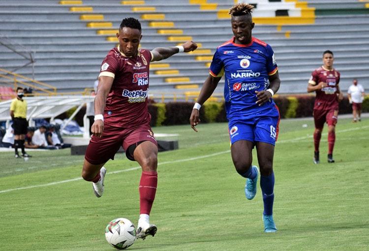 Deportes Tolima, Deportivo Pasto, Copa BetPlay 2020