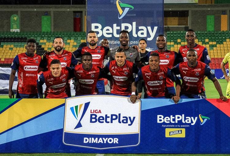 Deportivo Independiente Medellín, DIM, Millonarios FC, Atlético Bucaramanga, Liga BetPlay 2021-I