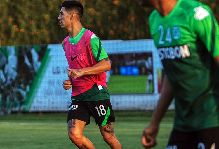 Emmanuel Olivera, Atlético Nacional, Liga BetPlay 2021-I, Copa BetPlay 2020