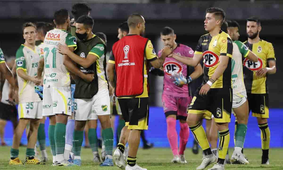 Empate sin goles en la semifinal de ida entre Coquimbo Unido y Defensa y Justicia