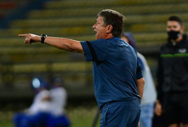 """Nos falta mucho todavía"": Bolillo tras derrota del DIM ante Junior"