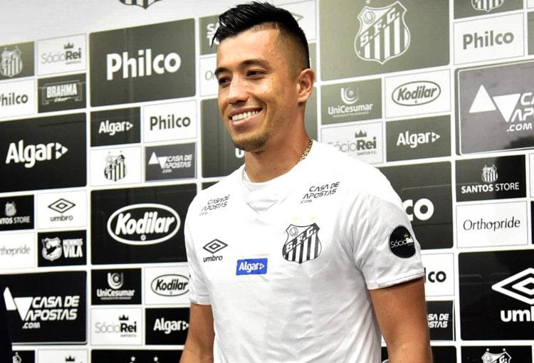 Fernando Uribe, Santos FC