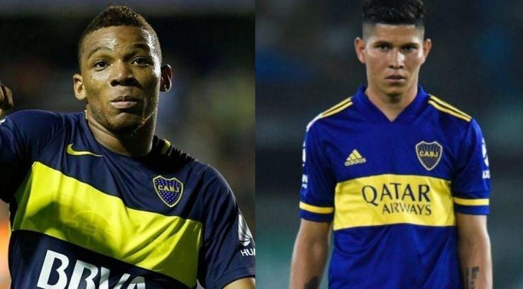 Frank Fabra y Jorman Campuzano saldrían de Boca Juniors