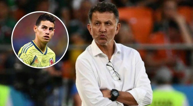 James Rodríguez y donde debe jugar en la Selección Colombia, según Juan Carlos Osorio