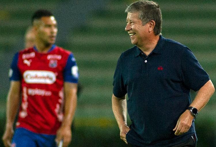 Hernán Darío Gómez, Bolillo Gómez, Hernán Darío 'Bolillo' Gómez, DIM, Deportivo Independiente Medellín, Copa BetPlay 2020, Deportes Quindío