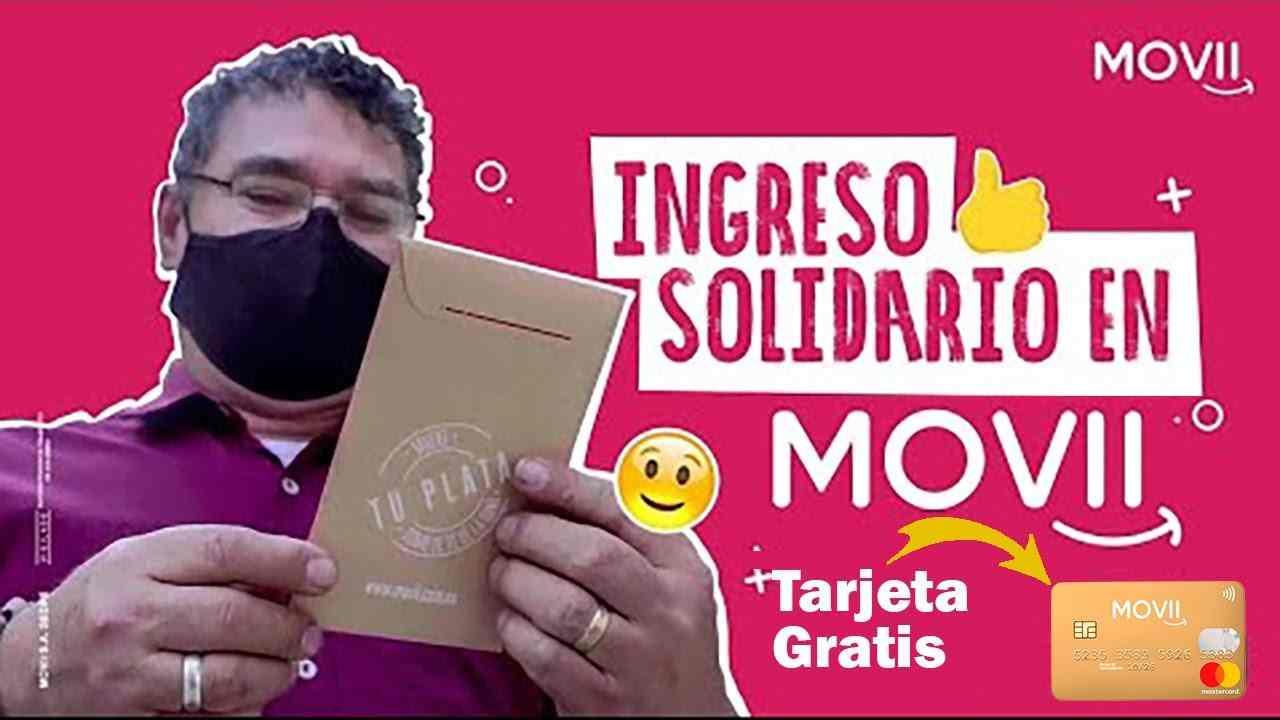 Así llega al Ingreso Solidario de octubre por MOVii
