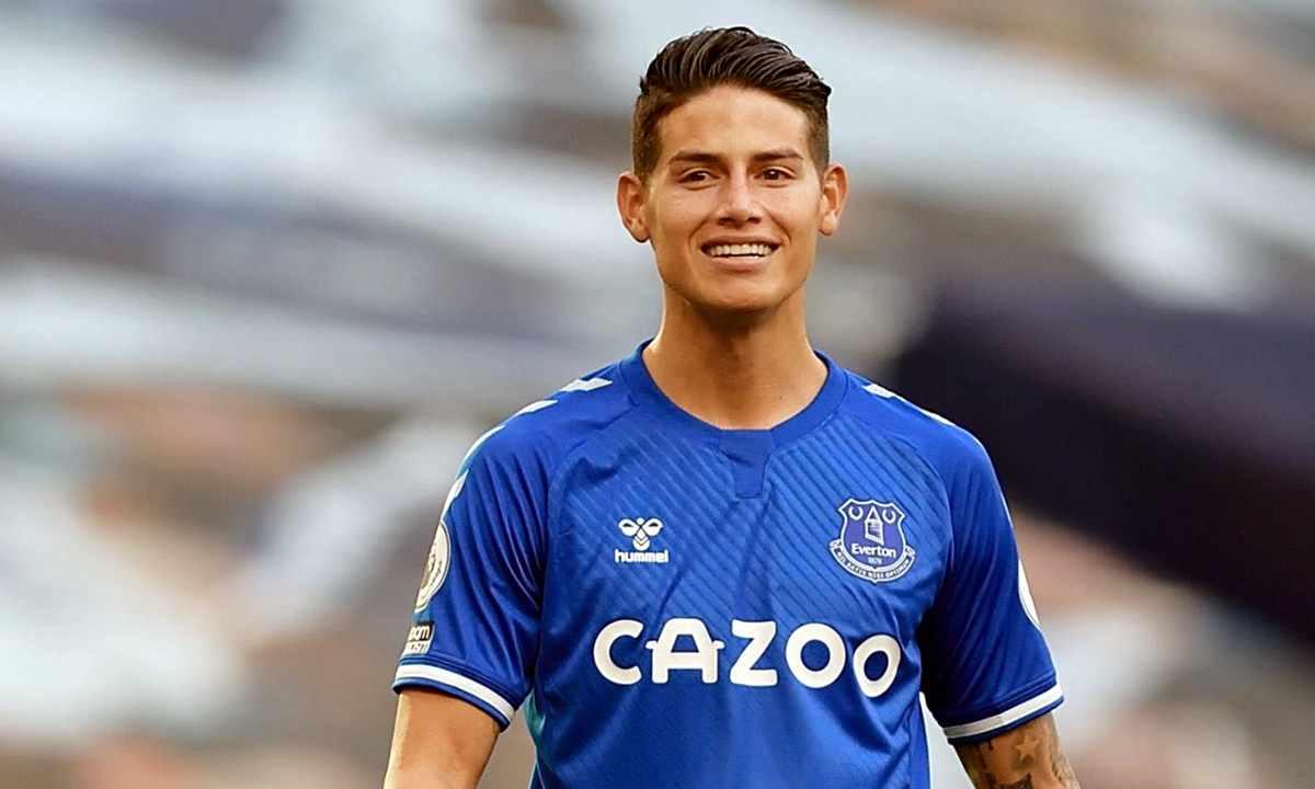 James Rodríguez en Everton produce millonadas con o sin jugar