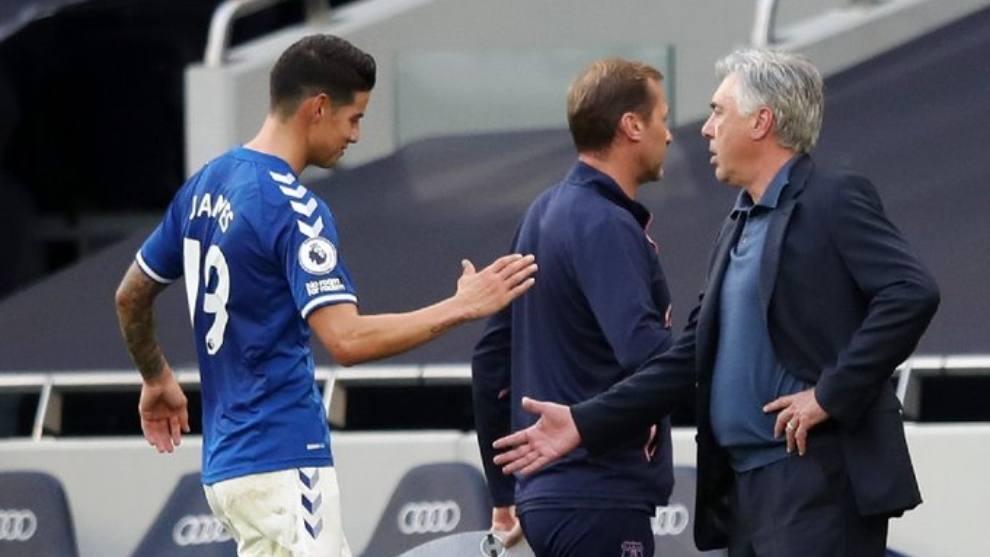 """""""James hizo todo lo que le pedimos a él"""": Ancelotti tras victoria en FA Cup"""
