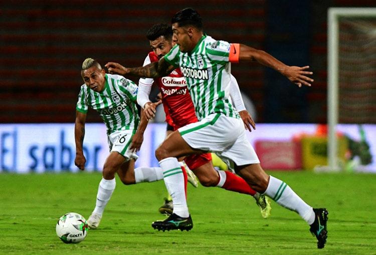 Jéfferson Duque, Iván René Valenciano, Atlético Nacional, Copa BetPlay 2020, Deportes Tolima, Selección Colombia