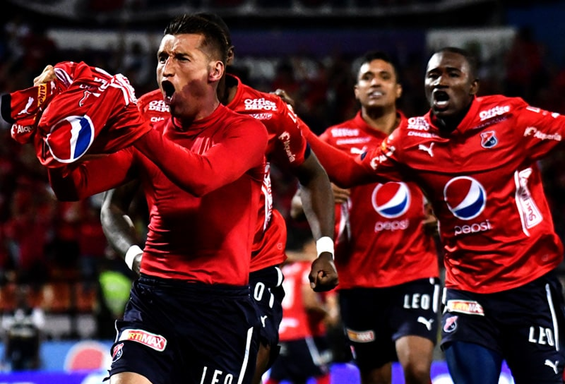 John 'Goma' Hernández, Deportivo Independiente Medellín, DIM, Atlético Bucaramanga