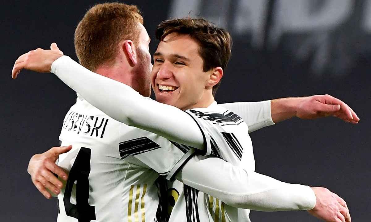 Juventus es el tercer semifinalista de la Copa Italia Cuadrado no jugó