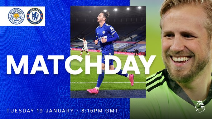 EN VIVO - Leicester 1 vs 0 Chelsea (minuto 7) online por la jornada 18 de la Premier League de Inglaterra