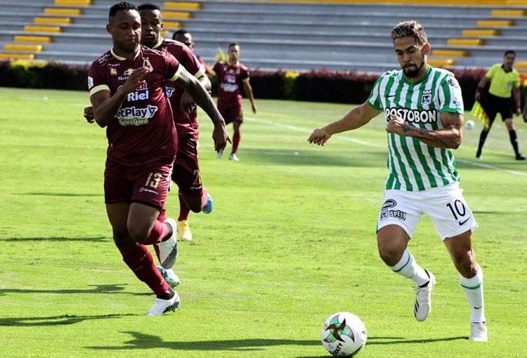 Liga BetPlay 2021-I, fecha 5, Deportes Tolima, Atlético Nacional