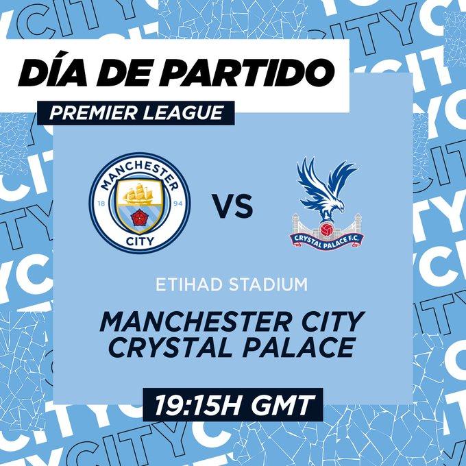EN VIVO - Manchester City vs Crystal Palace online por la jornada 19 de la Premier League de Inglaterra