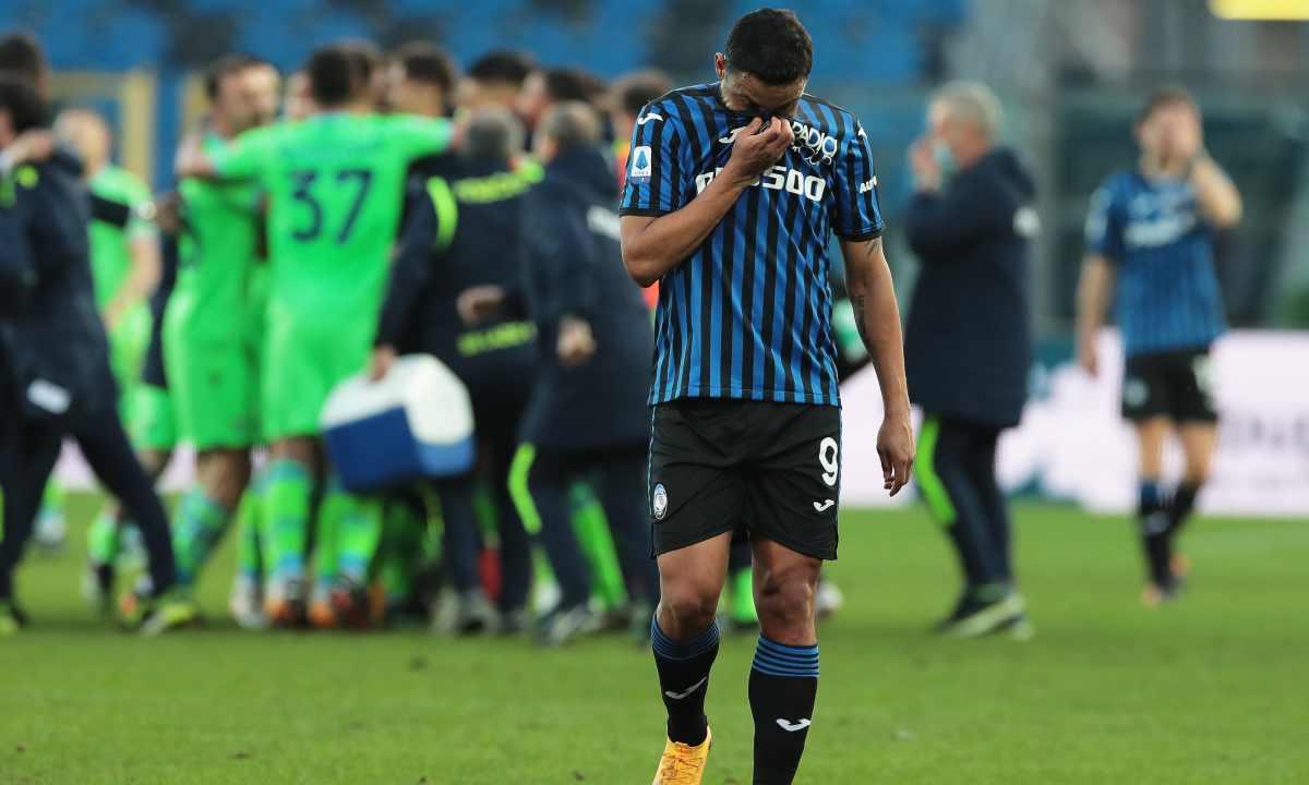 Muriel ayudó en el descuento paseo de Lazio al Atalanta en la Serie A