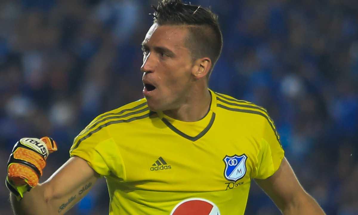 Nicolás Vikonis, otro que le hace 'coquitos' a Millonarios