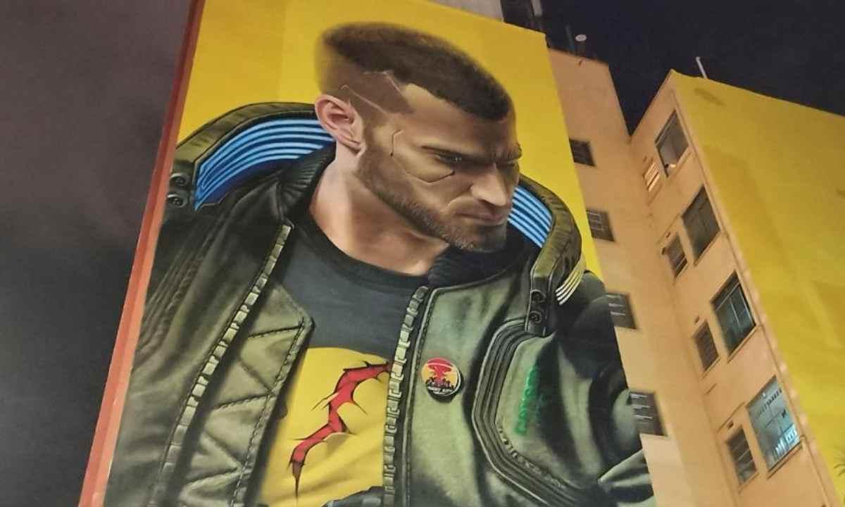 Otra mala para CD Project Red multa por mural gigante en Sao Paulo