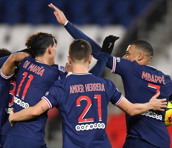 Psg 4 Vs 0 Montpellier Por La Ligue 1 De Francia