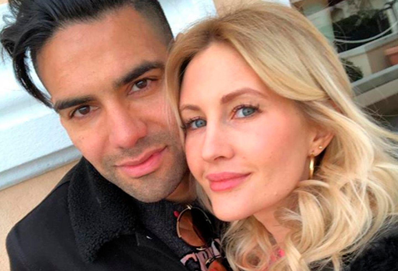 Esposa de Falcao dejó pistas sobre el futuro del delantero
