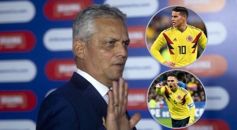 Reinaldo Rueda: la posición que utilizará a James Rodríguez en Colombia y la lesión de Falcao