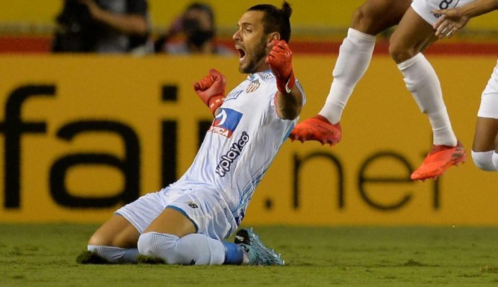 Sebastián Viera ganó una apuesta con el gol que marcó