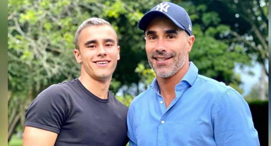 Las coincidencias del debut de Tomás y Juan Pablo Ángel