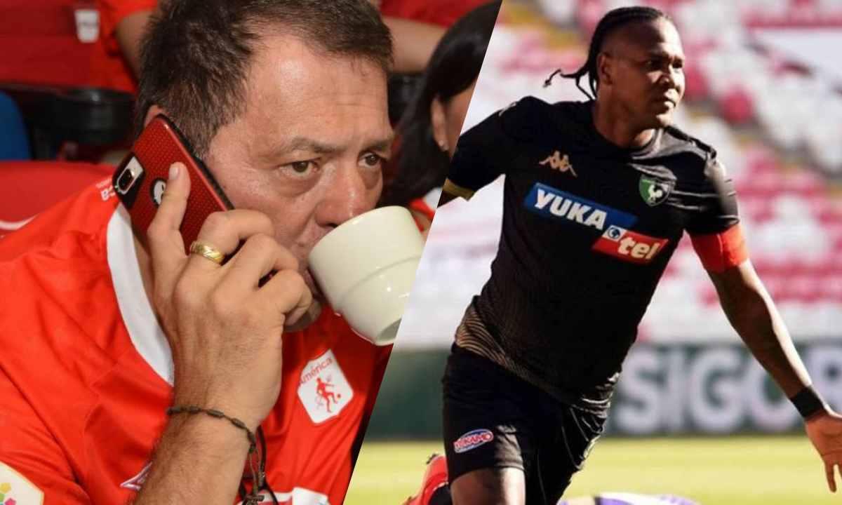 Tulio Gómez a Hugo Rodallega Venga a jugar la Copa Libertadores